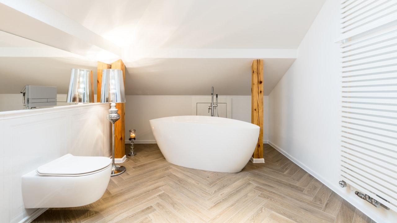 baños abuhardillados