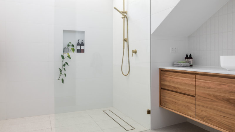 mamparas baños abuhardillados