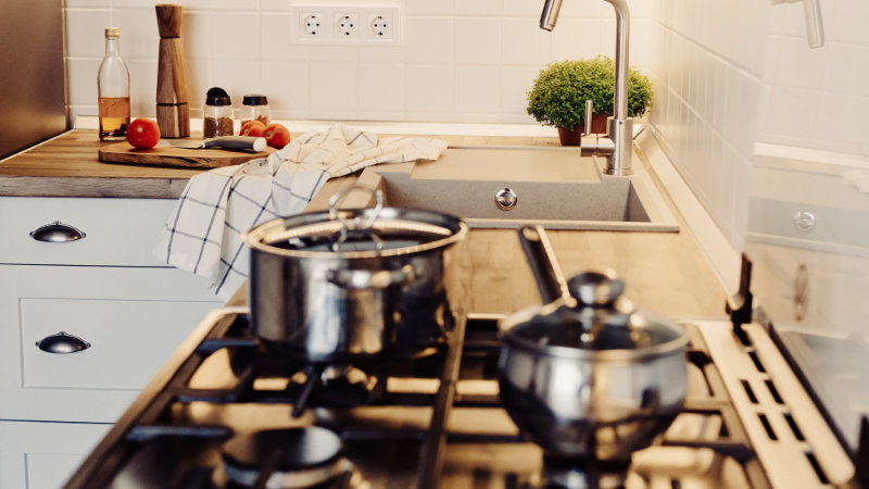 ideas para cocina abuhardillada